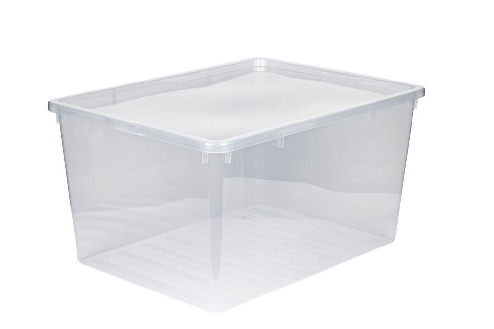 XXL Kunststoffbox Aufbewahrungsbox mit Deckel Box Kiste