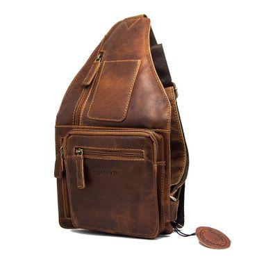 Herren Damen Tasche Schultertasche Umhängetasche Henkel CrossOver Messenger bag – Bild 2