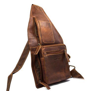 Herren Damen Tasche Schultertasche Umhängetasche Henkel CrossOver Messenger bag – Bild 12