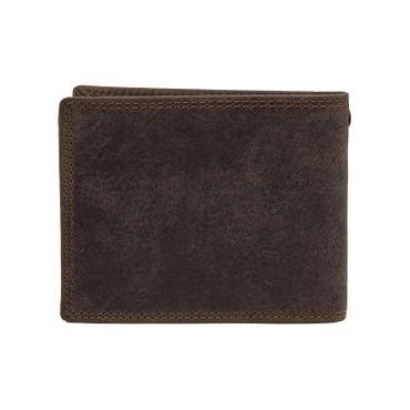 Herren Leder Geldbörse Geldbeutel Brieftasche Büffelleder Kette Motive Männer – Bild 9