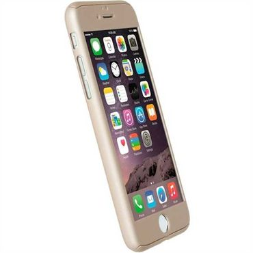 Krusell Arvika Cover 60723 für Apple iPhone 7 - Gold – Bild 3