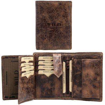 Business Herren Leder Geldbörse Geldbeutel Brieftasche Luxus echt Leder Männer – Bild 9