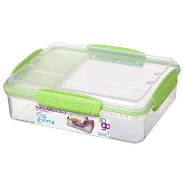 Sistema Snack Attack Vesperbox Lunchbox Frühstücksdose Lunchdose Sandwichbox Box