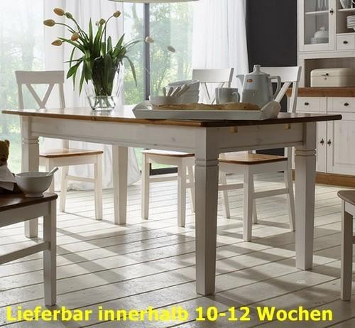 Esstisch Esszimmertisch Tisch 120x78 cm Landhausstil Kiefer massiv