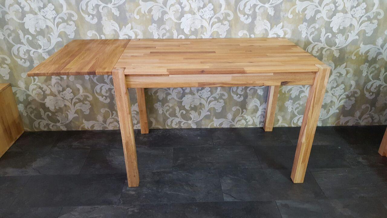 Esstisch 2 Ansteckplatten Esszimmertisch Küchentisch 110x70cm Eiche ...