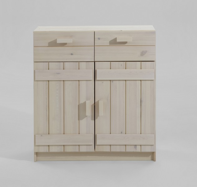 Kommode kinderkommode anrichte sideboard kiefer massiv for Kommode farbig