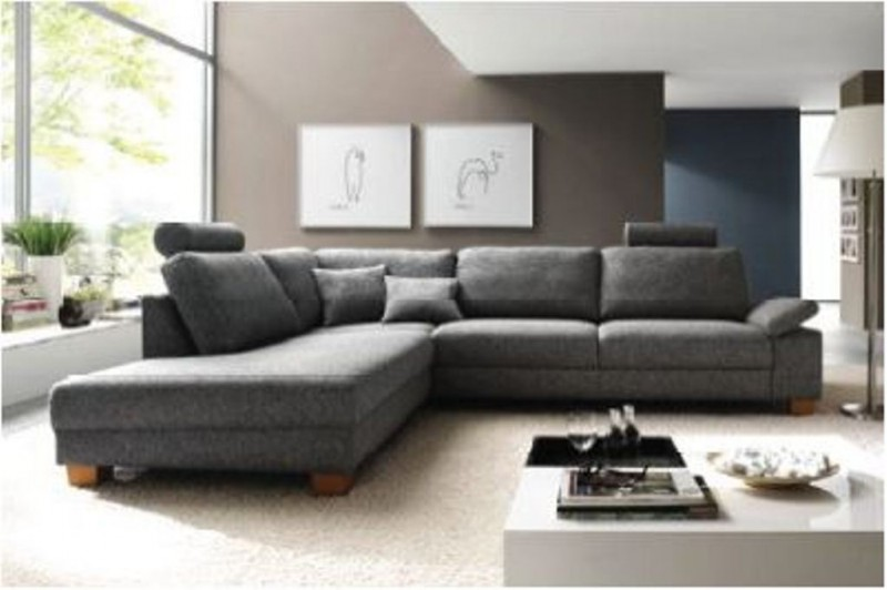 Polsterecke Garnitur Couch Eckgarnitur Mit Kopfstutzen