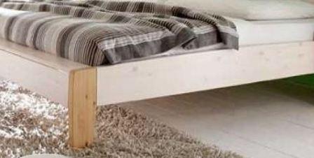doppelbett bett g stebett franz sisch holzbett wei kiefer. Black Bedroom Furniture Sets. Home Design Ideas