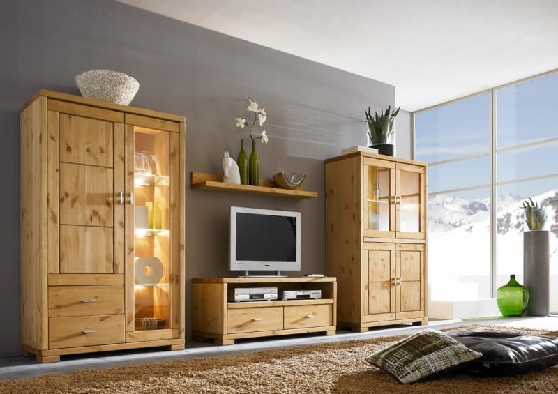 wohnzimmer schrankwand landhausstil – usblife, Wohnideen design