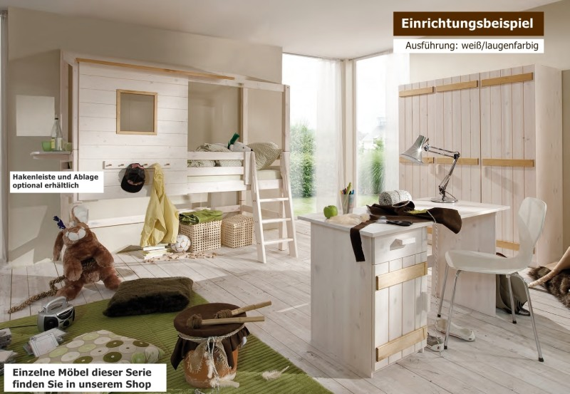 kinderzimmer jugendzimmer kompletteinrichtung kiefer. Black Bedroom Furniture Sets. Home Design Ideas