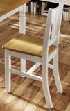 Stuhl Stühle Esszimmerstuhl 2er Set Küchenstuhl Esszimmer Fichte massiv weiß