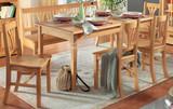 Essgruppe Esszimmer Küche Tischgruppe Esstisch Stühle Bank Fichte massiv