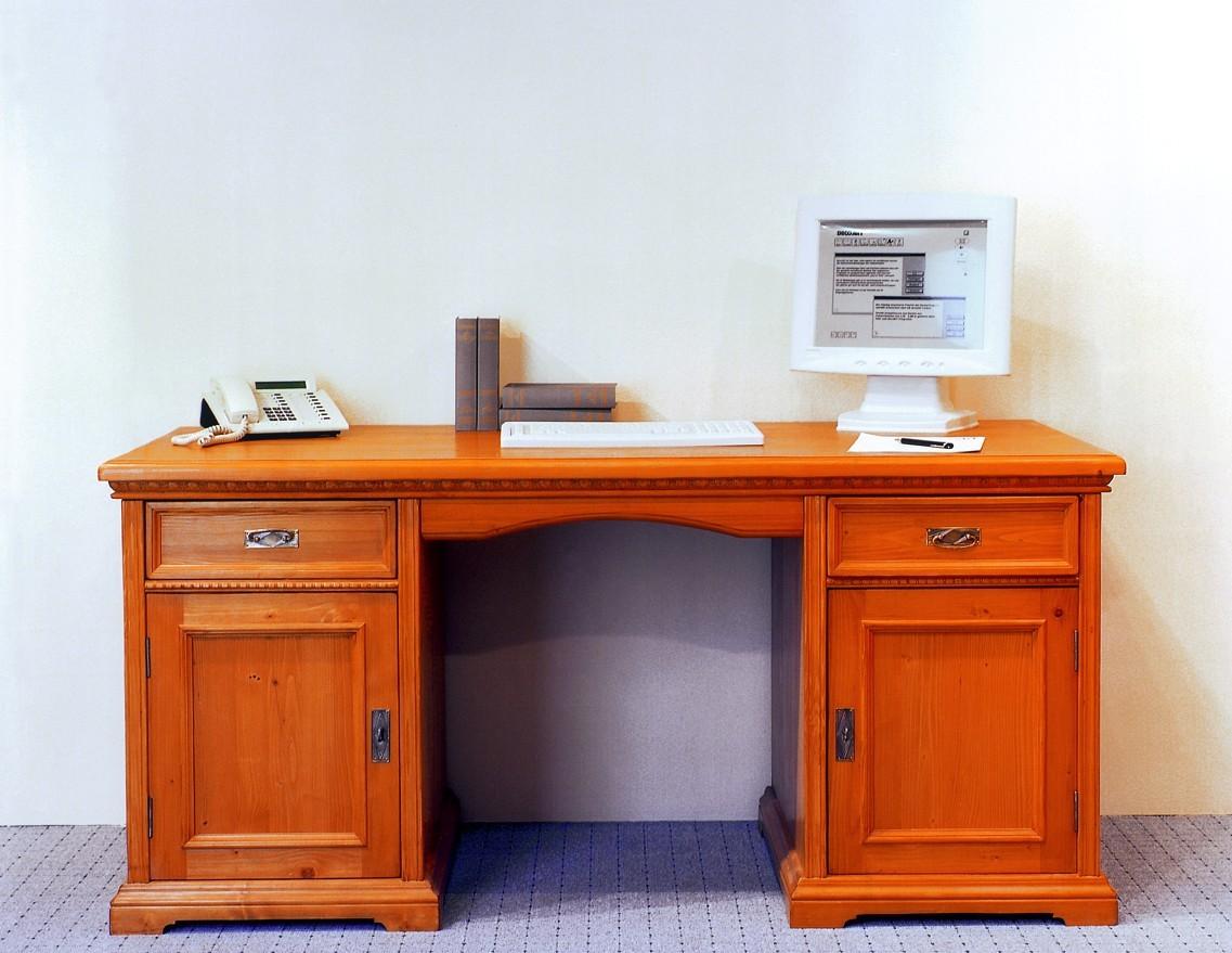 Schreibtisch computertisch arbeitstisch b rotisch fichte for Lipo schreibtisch