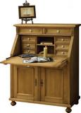 Sekretär Klappsekretär Büromöbel Fichte massiv antik gewachst Landhaus