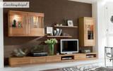 Lowboard TV-Board TV-Lowboard TV-Möbel Kernbuche massiv geölt