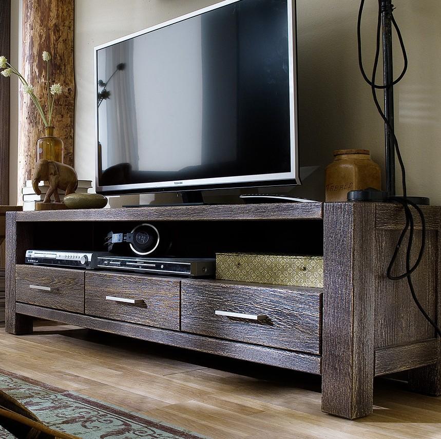tv board anrichte lowboard eiche massiv sandgestrahlt kolonial africa style wohnzimmer tv m bel. Black Bedroom Furniture Sets. Home Design Ideas