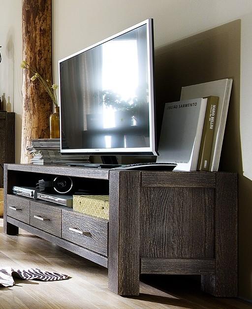 Tv board anrichte lowboard eiche massiv sandgestrahlt kolonial africa style wohnzimmer tv m bel - Wohnzimmer kolonial ...