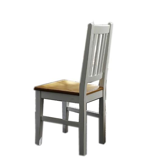 Stuhle Stuhl Set Kuchenstuhl Esszimmerstuhl Fichte Massiv Antikweiss