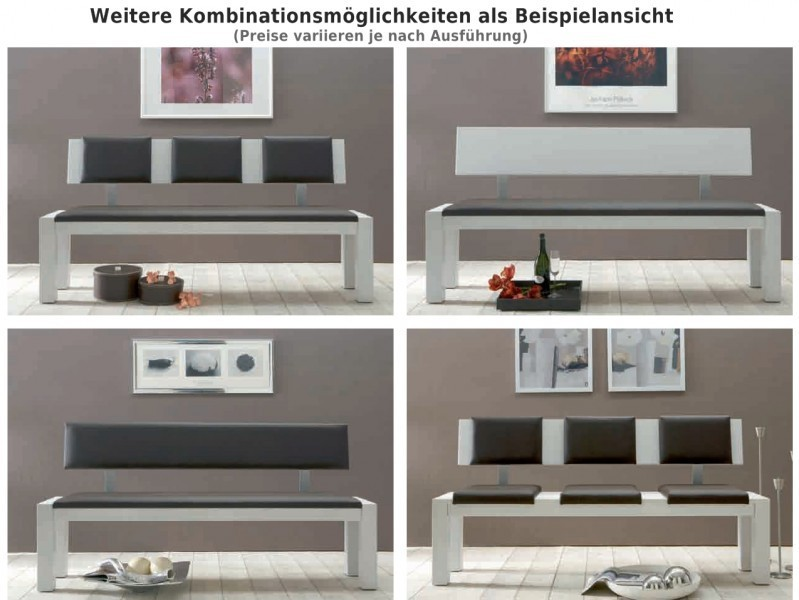 sitzbank bank esszimmerbank k chenbank eiche massiv ge lt. Black Bedroom Furniture Sets. Home Design Ideas