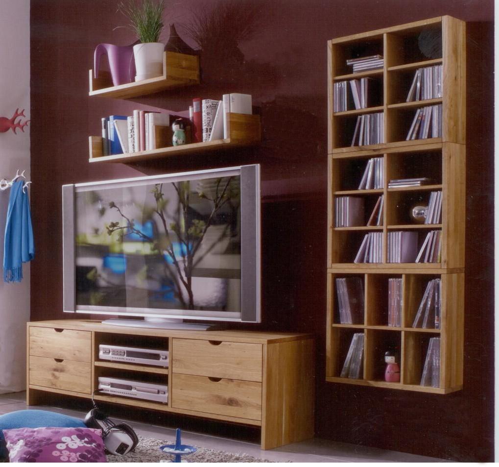 Wohnwand Wohnzimmerwand Wandboard Bank Regal Wohnzimmer ...