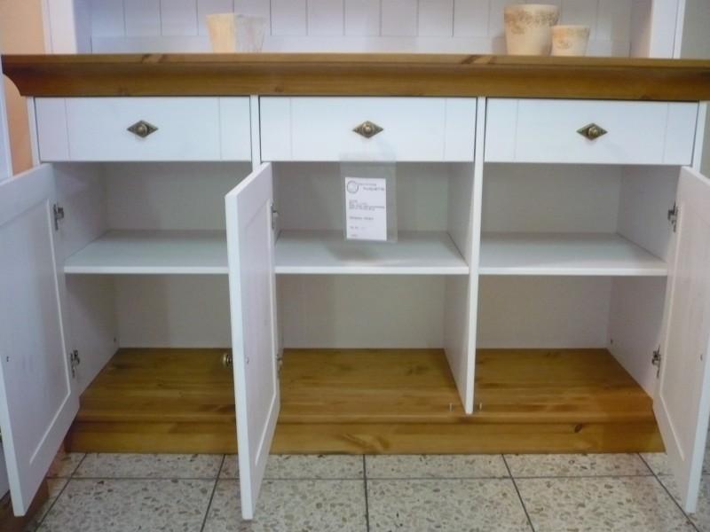 anrichte sideboard kommode landhausstil 3 t rig kiefer. Black Bedroom Furniture Sets. Home Design Ideas