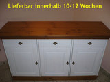 Anrichte Sideboard Kommode Landhausstil 3-türig Kiefer massiv
