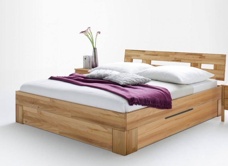 bett doppelbett jugendbett holzbett g stebett schubkasten. Black Bedroom Furniture Sets. Home Design Ideas