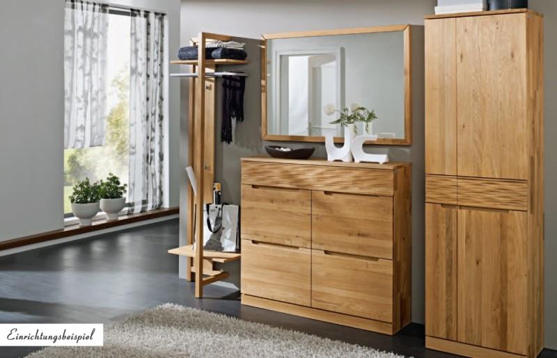 Garderobe Holz Massiv ~ Garderobe wandgarderobe wildeiche massiv geölt made in germany