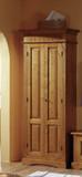 Garderobenschrank Dielenschrank Fichte massiv klassisch elegant antik Flur Diele