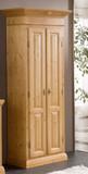 Garderobenschrank Schrank Dielenschrank Fichte massiv Landhaus Provence antik