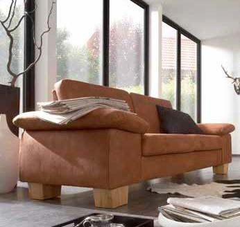 Ledercouch braun modern  Sofa/Couch