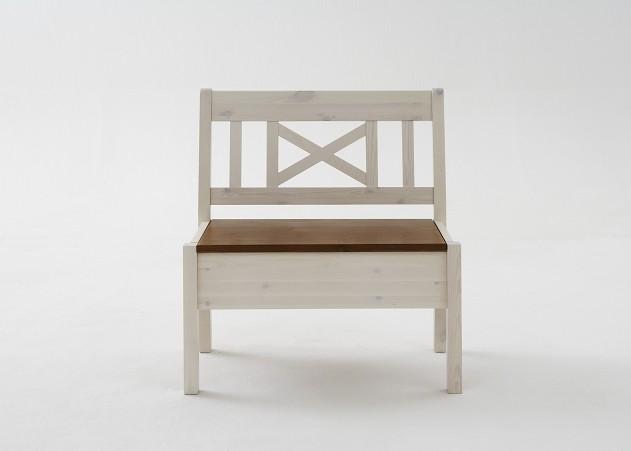 bank sitzbank esszimmerbank kiefer massiv wei bernstein esszimmer landhaus ebay. Black Bedroom Furniture Sets. Home Design Ideas
