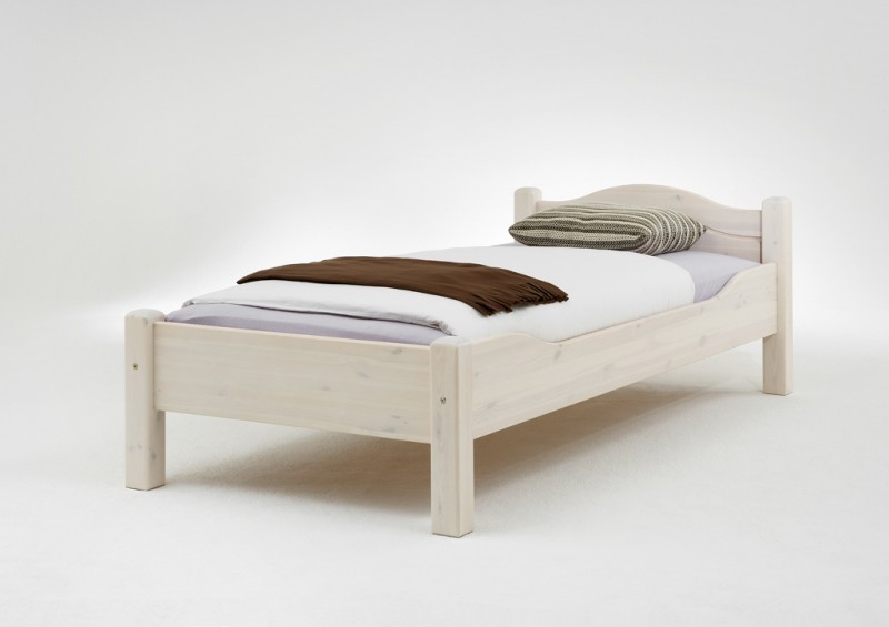 einzelbett doppelbett jugendbett g stebett landhausstil kiefer massiv. Black Bedroom Furniture Sets. Home Design Ideas