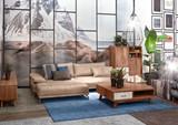 Ledergarnitur Polsterecke Wohnlandschaft Garnitur Couch mit Funktion Echtleder