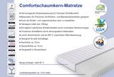 Matratze Komfortschaum waschbar H2 Made i Germany schadstoffgeprüft Atmungsaktiv