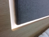 Schlafzimmer Wildeiche Kleiderschrank 2 Nakos Bett 180x200 AUSSTELLUNGSSTÜCK