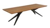 Esstisch Wildeiche massiv 260x100 Speisetisch Tisch modern Schweizer Kante geölt