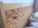 Doppelbett Ehebett 180x200cm Zirbe Massivholz geölt massiv AUSSTELLUNGSSTÜCK