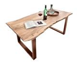 TISCHE & BÄNKE Tisch 160x85 Akazie Natur