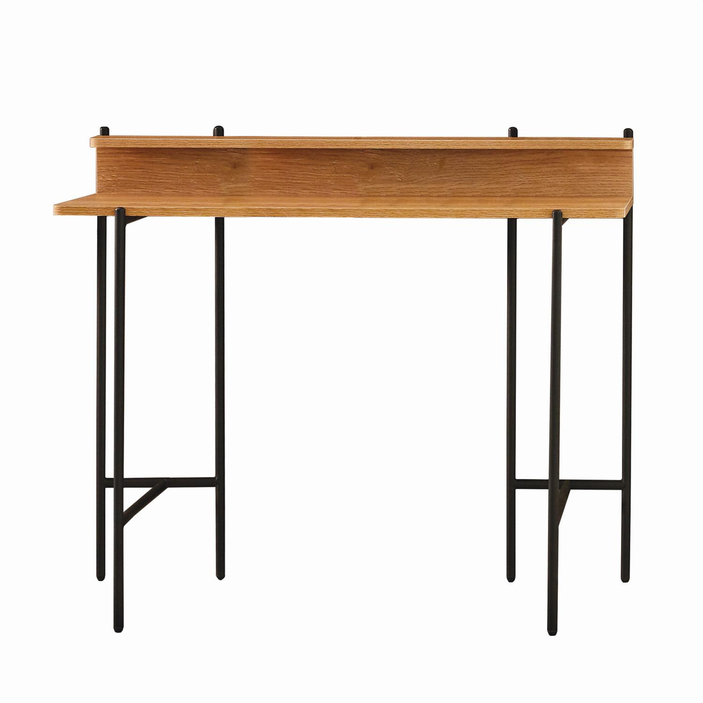 Schreibtisch Schwarz Metall 2021