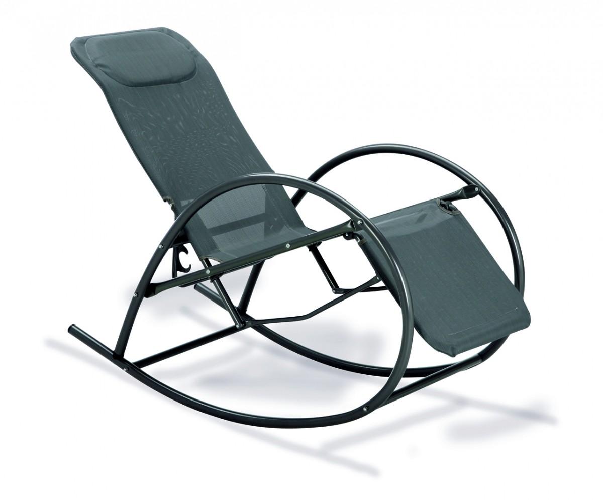 schaukelstuhl relax gartenliege kopfpolsterung relaxliege elegant