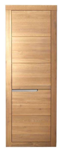 Vitrinenschrank vitrine wohnzimmer wildeiche massiv ge lt for Wohnzimmer edel