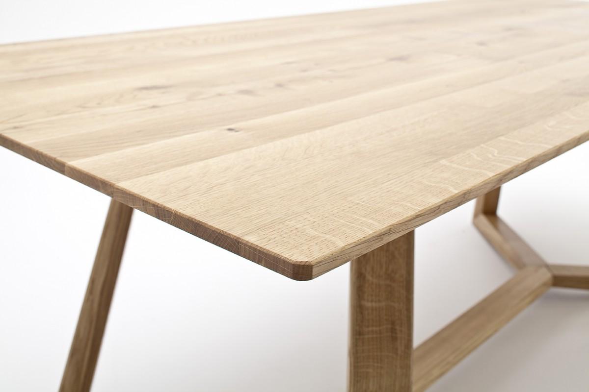Esstisch eiche geölt  Tisch Esstisch Konferenztisch Esszimmertisch Asteiche massiv geölt ...