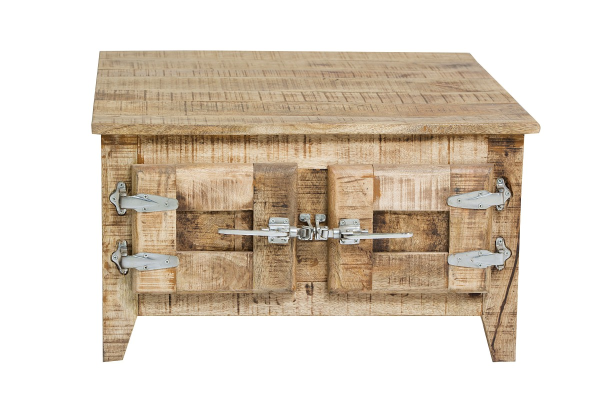 Couchtisch Truhe Truhentisch Mango Holz massiv lackiert rustikal ...