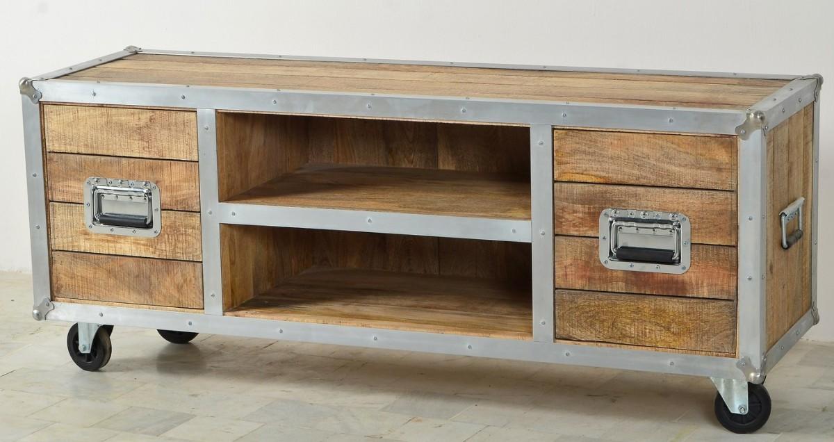 tv board holz tv board aus sheesham holz ready 2 buy das. Black Bedroom Furniture Sets. Home Design Ideas