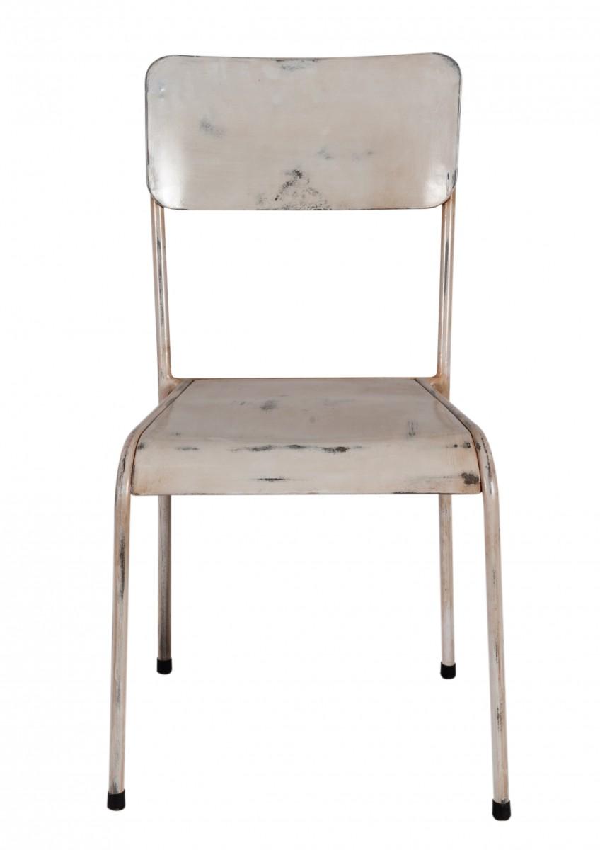 vintage metall esszimmer st hle m belideen. Black Bedroom Furniture Sets. Home Design Ideas