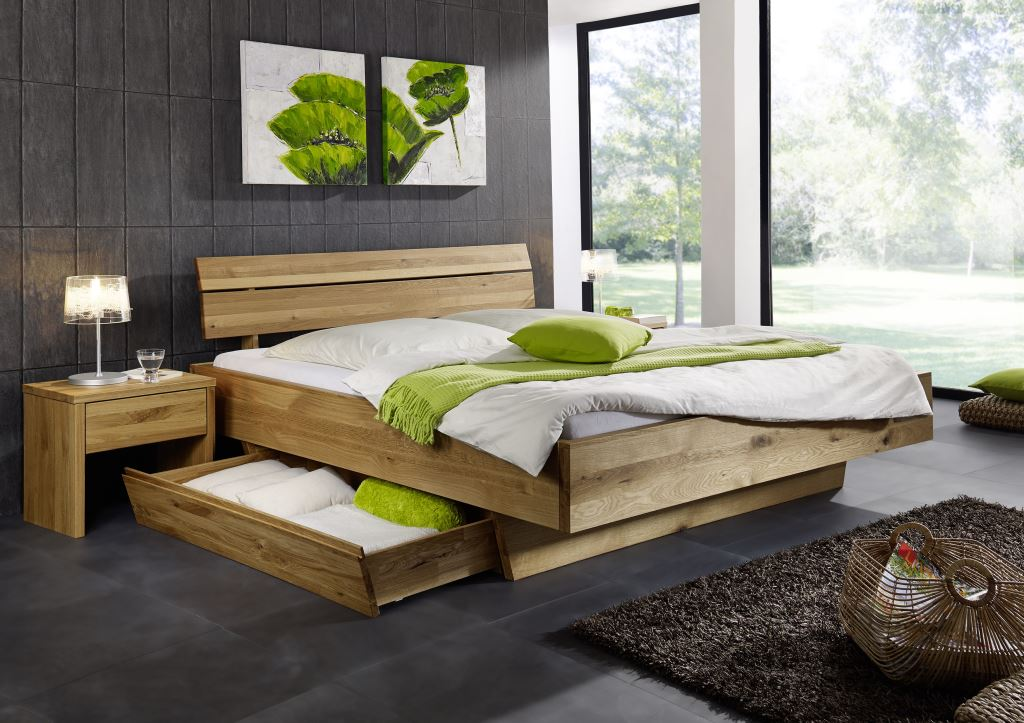 doppelbett bett holzbett wildeiche massiv schlafzimmer balken rustikal 180x200 schlafzimmer. Black Bedroom Furniture Sets. Home Design Ideas