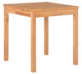 Esstisch Esszimmertisch Küchentisch Tisch 70x70 cm Kernbuche massiv lackiert