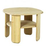 Couchtisch Tisch Beistelltisch quadratisch Kiefer massiv weiss