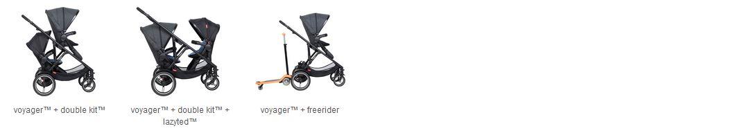 Voyager V6 und Double Kit /™ von 2019+ in der Farbe butterscotch Dash Liner Sport passt f/ür Kinderwagen Dot Phil/&teds Sitzauflage